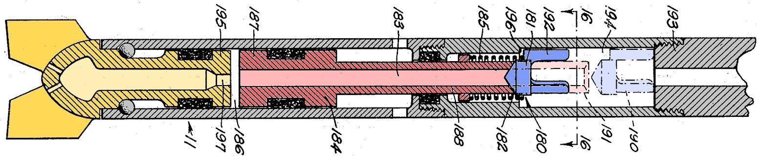Hydraulic driven piston retraction mechanism by John A. Zublin