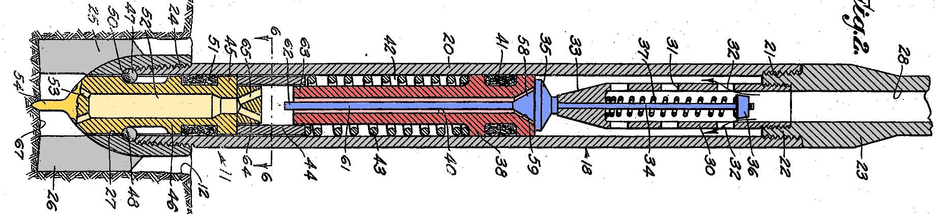 Hydraulic Ram Hammer of John a. Zublin