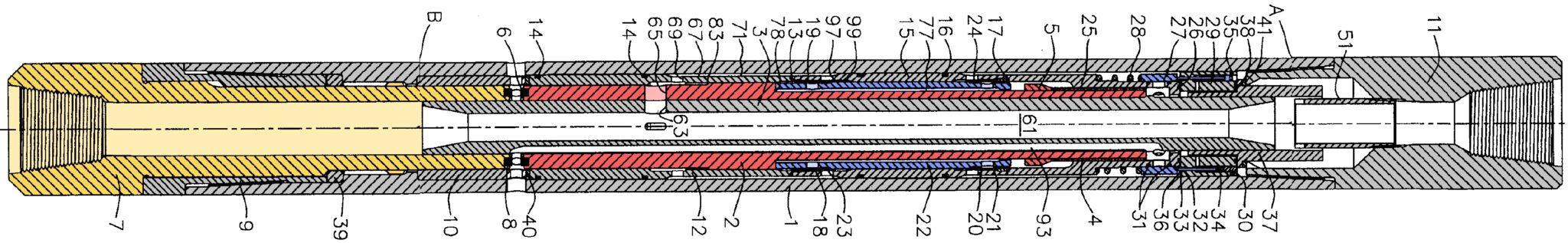 Novatek hydraulic mud hammer mechanism